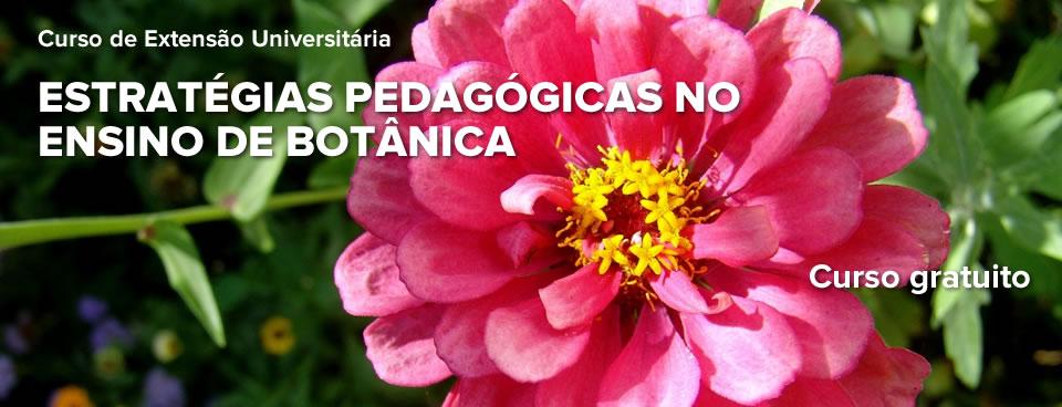 """Curso de Extensão Universitária – """"Estratégias Pedagógicas no Ensino de Botânica: A Importância das Aulas Práticas"""""""