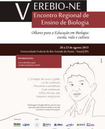 V Encontro Regional de Ensino de Biologia do Nordeste (V EREBIO – NE)