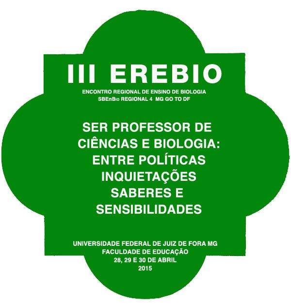 Anais do III EREBIO Regional 4