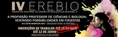 IV Encontro Regional do Ensino de Biologia
