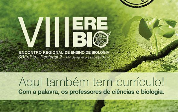 Anais do VIII Encontro Regional de Ensino de Biologia – Regional 2