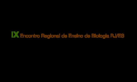 IX Encontro Regional de Ensino de Biologia RJ/ES
