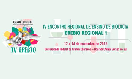 Erebio Regional 1 – IV Encontro Regional de Ensino de Biologia da Regional 1