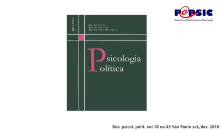 Última edição da Revista Psicologia Política
