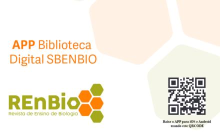Lançamento APP Biblioteca Digital SBenBio