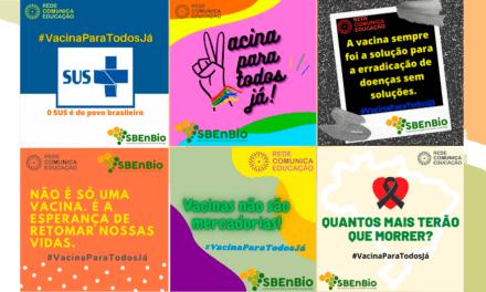 SBenBio entra na campanha #Vacinaparatodosjá